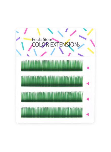 彩色單根 4列 (綠)